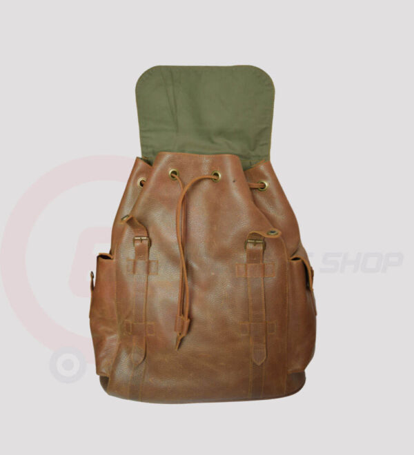 Berliner-Leather-Backpack-for-man-and-women-open