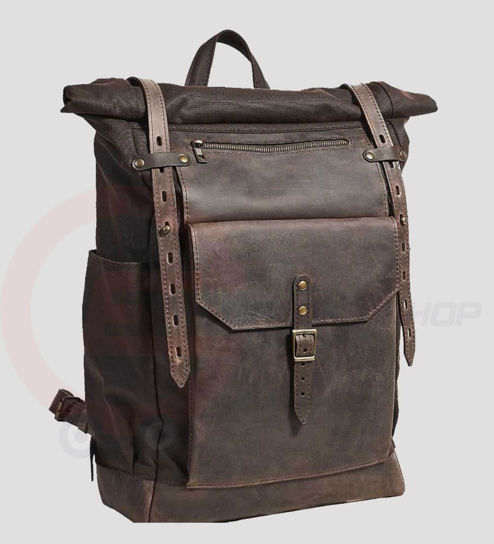 Leather-Retro-Rucksack-Backpack-side-view