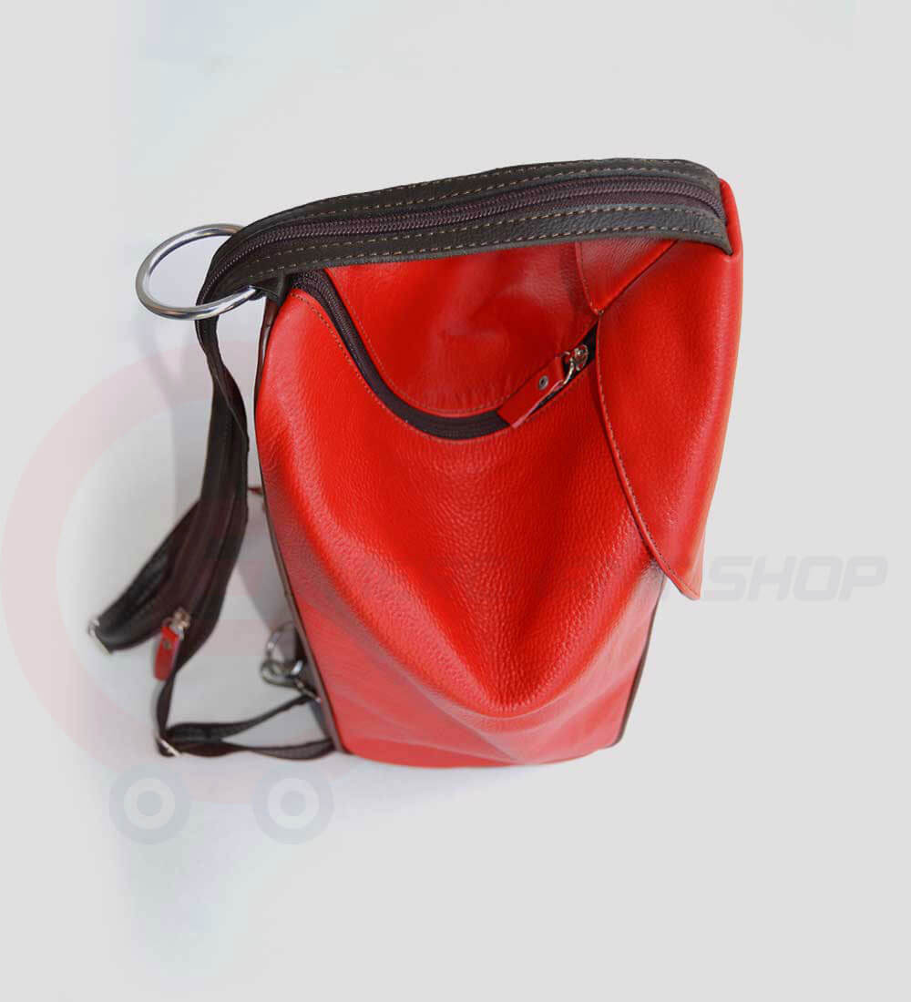 Student-Leather-Backpack-Red-Top