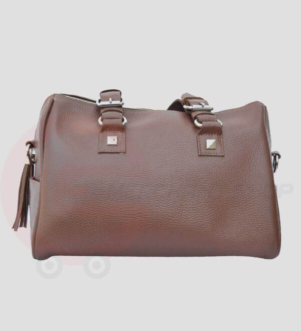 Women-Leather-Tote-Shoulder-back-view