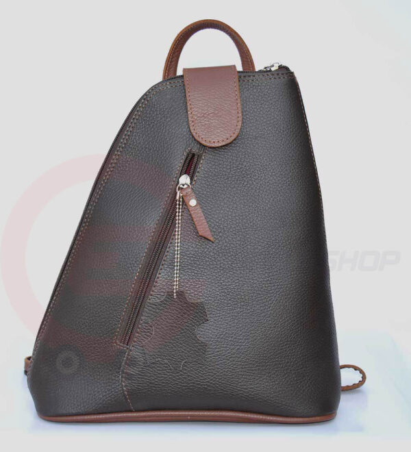 Women-Leather-student-Backpack