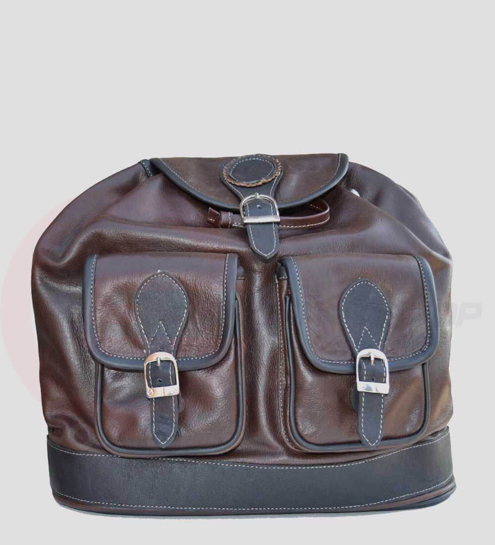 Womens Leather Travel Backpack